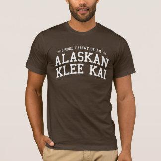 Padre orgulloso de una camiseta oscura de Alaska