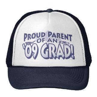 Padre orgulloso del engranaje 2009 del graduado gorro