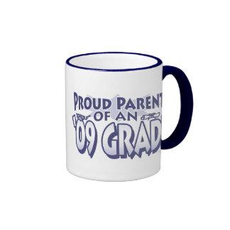 Padre orgulloso del engranaje 2009 del graduado tazas de café