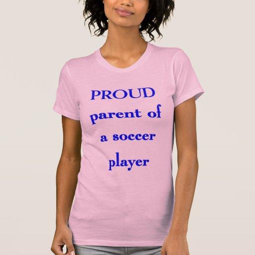 Padre orgulloso del fútbol playeras