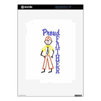 Padre orgulloso skin para el iPad 2
