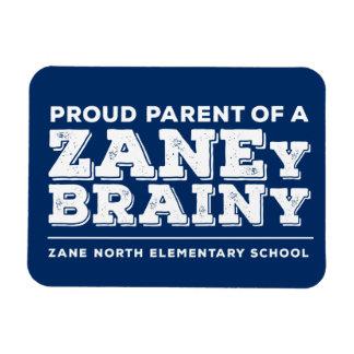 """Padre orgulloso Zaney 3"""" inteligente"""" imán de la"""