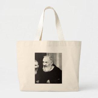 Padre Pio 102.jpg Bolsas Lienzo