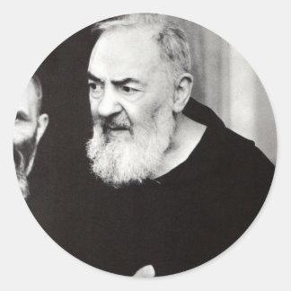 Padre Pio 102.jpg Round Sticker