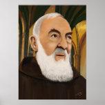 Padre Pio de Pietrelcina Póster