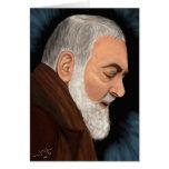 Padre Pio Greeting Card