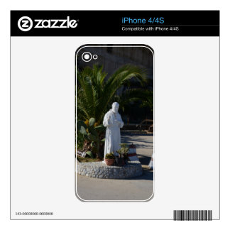 Padre Pio Skin For iPhone 4