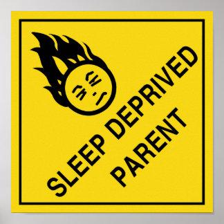 Padre privado sueño póster
