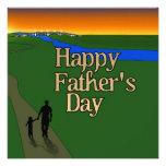 Padre y niño - el día de padre