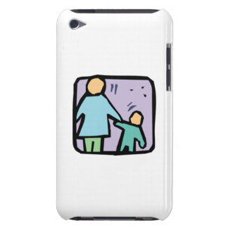 Padre y niño barely there iPod funda