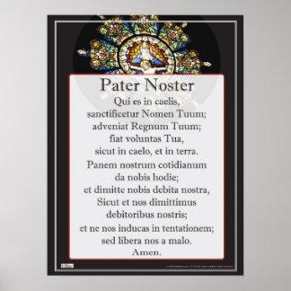 Padrenuestro Noster Poster