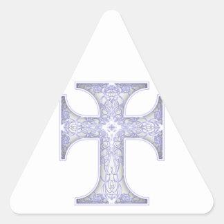 Padrenuestro Noster Pegatina Triangular