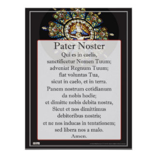 Padrenuestro Noster Póster
