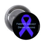Padres contra la conducción borracha pin
