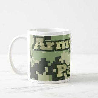 Padres del ejército taza de café