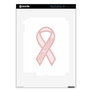 Padres del nacimiento calcomanía para iPad 2