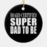 Padres futuros: Papá estupendo certificado tablero
