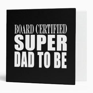 """Padres futuros: Papá estupendo certificado tablero Carpeta 2"""""""