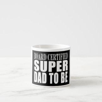 Padres futuros Papá estupendo certificado tablero Tazita Espresso