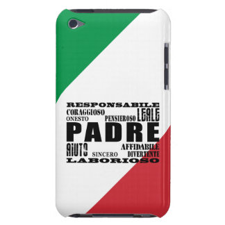 Padres italianos: Calidades Barely There iPod Protectores