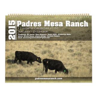 Padres Mesa Ranch Calendar 2015 Jan - Dec v1.0.1