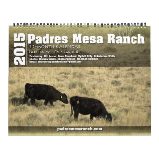 Padres Mesa Ranch Calendar 2015 v1