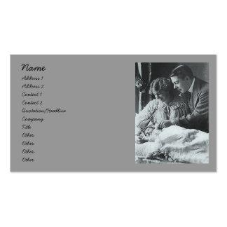 Padres orgullosos tarjetas de visita