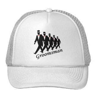 Padrino de boda hombres gorras
