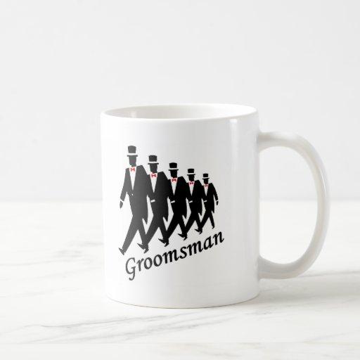 Padrino de boda (hombres) tazas de café