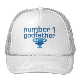 Padrino del número 1 gorras