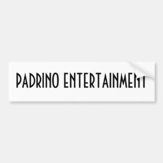 PADRINO ENTERTAINMENT BUMPER STICKER