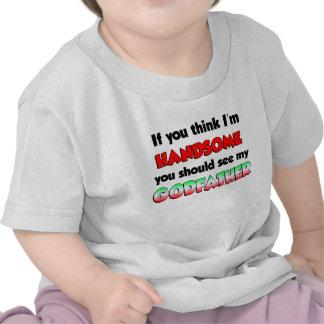 Padrino italiano hermoso camiseta