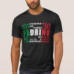 Padrinos italianos: Calidades Playera