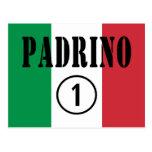 Padrinos italianos: Uno de Padrino Numero Tarjetas Postales