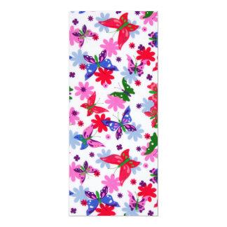 padrões com  borboletas card