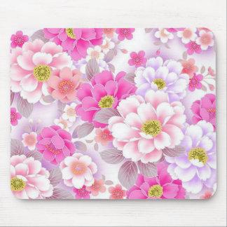 padrrão floral bonito mouse pad