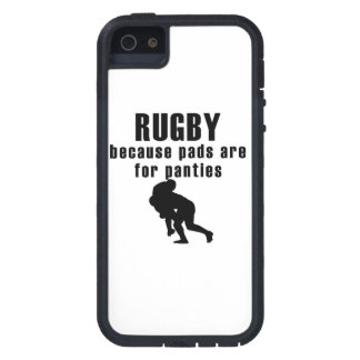Pads Are For Panties Rugby iPhone 5 Case