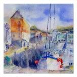 Padstow Habour Posters