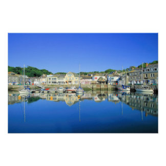 Padstow in Cornwall Poster