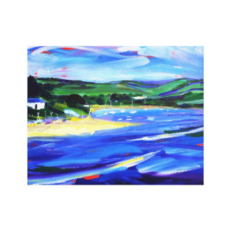 Padstow Original Oil painting reproduced on canvas
