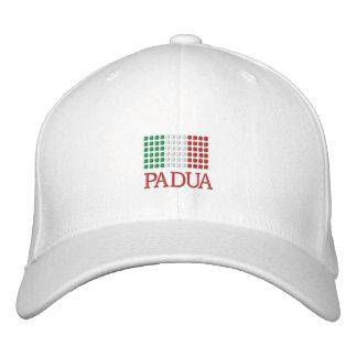 Padua Italy Cap - Padua Italian Flag Hat