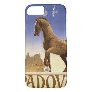 Padua Padova Italy Vintage Travel Poster Restored iPhone 7 Case