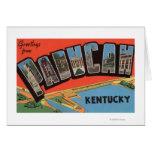 Paducah, Kentucky - escenas grandes de la letra Tarjeta De Felicitación