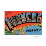 Paducah, Kentucky - escenas grandes de la letra Tarjetas Postales