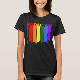 Gay and lesbian rainbow ribbons