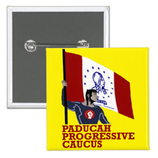 Paducah Progressive Caucus: Flag Bearer Button