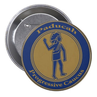 Paducah Progressive Caucus: Seal Button