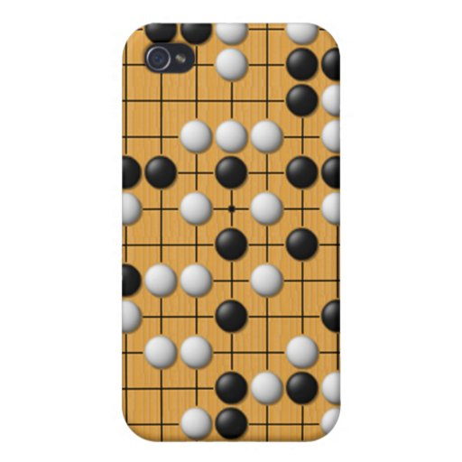 Paduk/Baduk/Go Asian Board Game for iPhone iPhone 4 Cases
