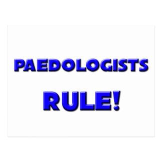 Paedologists Rule! Postcard