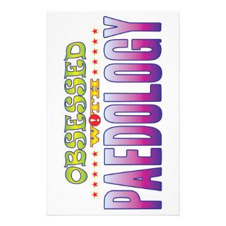 Paedology 2 obsesionado personalized stationery